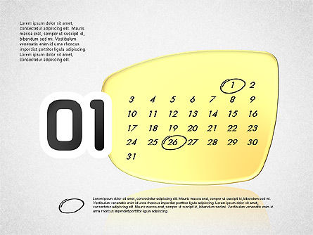 Calendar 2016, Slide 2, 03150, Timelines & Calendars — PoweredTemplate.com