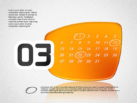 Calendar 2016, Slide 4, 03150, Timelines & Calendars — PoweredTemplate.com