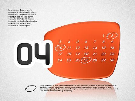 Calendar 2016, Slide 5, 03150, Timelines & Calendars — PoweredTemplate.com
