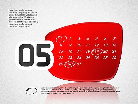 Calendar 2016, Slide 6, 03150, Timelines & Calendars — PoweredTemplate.com