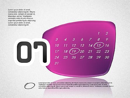 Calendar 2016, Slide 8, 03150, Timelines & Calendars — PoweredTemplate.com