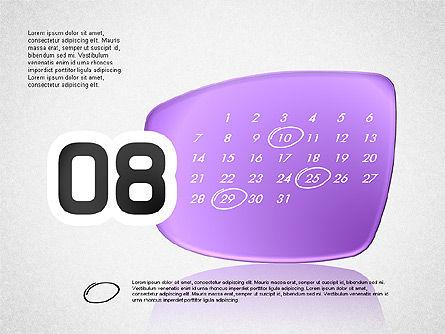 Calendar 2016, Slide 9, 03150, Timelines & Calendars — PoweredTemplate.com