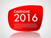 Timelines & Calendars: Calendar 2016 #03150