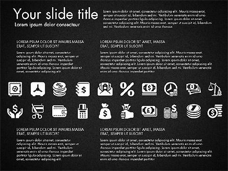Financial Icons, Slide 10, 03151, Icons — PoweredTemplate.com