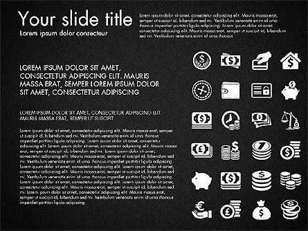 Financial Icons, Slide 11, 03151, Icons — PoweredTemplate.com