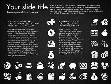 Financial Icons, Slide 12, 03151, Icons — PoweredTemplate.com