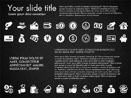 Financial Icons, Slide 13, 03151, Icons — PoweredTemplate.com