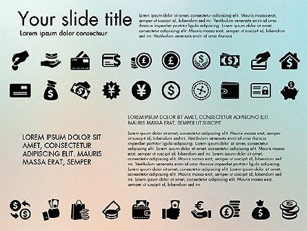 Financial Icons, Slide 5, 03151, Icons — PoweredTemplate.com