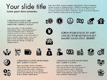 Financial Icons, Slide 6, 03151, Icons — PoweredTemplate.com