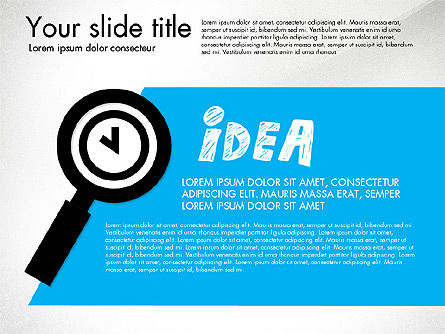 Business Idea Presentation Concept, Slide 2, 03153, Presentation Templates — PoweredTemplate.com