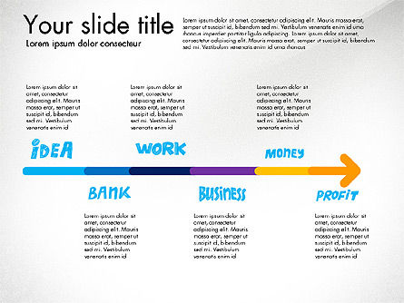 Business Idea Presentation Concept, Slide 4, 03153, Presentation Templates — PoweredTemplate.com