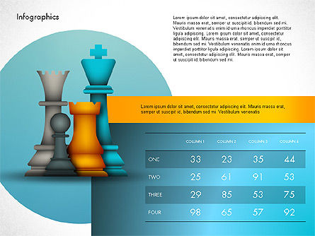 Strategy Presentation Template, Slide 3, 03155, Infographics — PoweredTemplate.com
