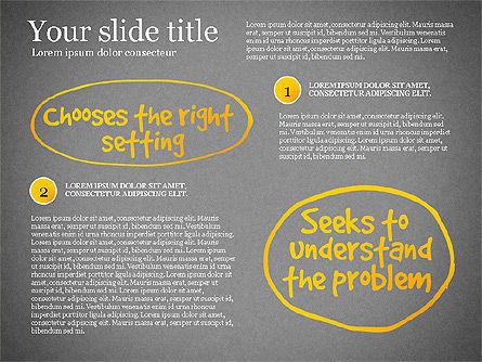 Effective Counselor Presentation Concept, Slide 12, 03156, Process Diagrams — PoweredTemplate.com
