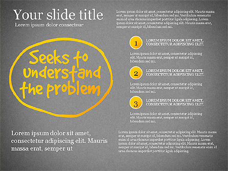 Effective Counselor Presentation Concept, Slide 13, 03156, Process Diagrams — PoweredTemplate.com