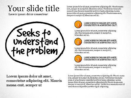 Effective Counselor Presentation Concept, Slide 5, 03156, Process Diagrams — PoweredTemplate.com