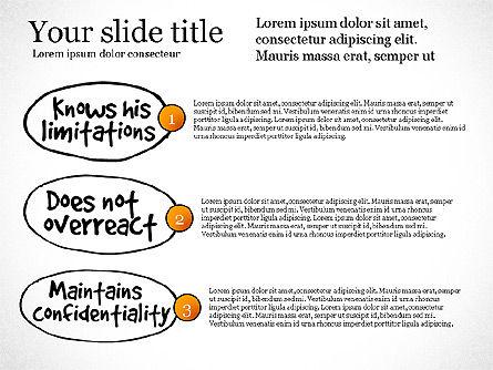 Effective Counselor Presentation Concept, Slide 6, 03156, Process Diagrams — PoweredTemplate.com