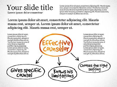 Effective Counselor Presentation Concept, Slide 7, 03156, Process Diagrams — PoweredTemplate.com