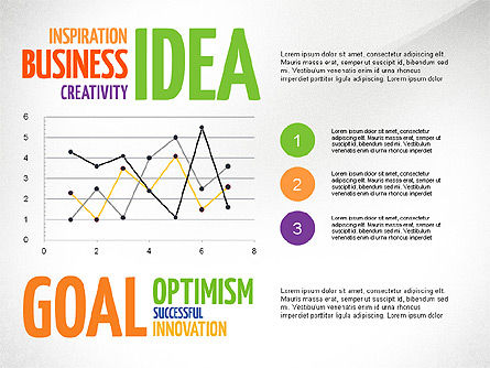 Positive Thinking Presentation Concept, Slide 5, 03157, Presentation Templates — PoweredTemplate.com