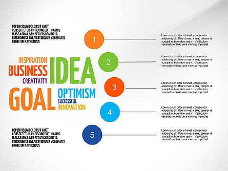 Positive Thinking Presentation Concept, Slide 8, 03157, Presentation Templates — PoweredTemplate.com