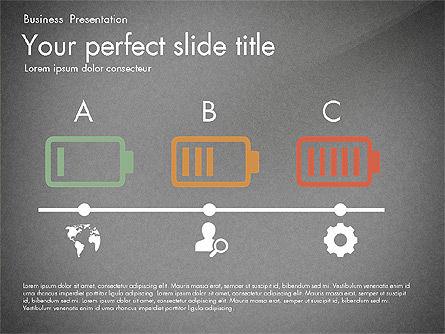 Timeline in Flat Design Toolbox, Slide 12, 03159, Timelines & Calendars — PoweredTemplate.com