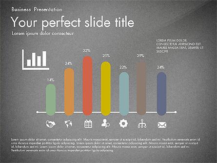 Timeline in Flat Design Toolbox, Slide 13, 03159, Timelines & Calendars — PoweredTemplate.com