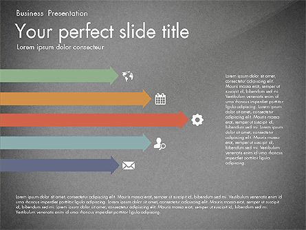 Timeline in Flat Design Toolbox, Slide 14, 03159, Timelines & Calendars — PoweredTemplate.com