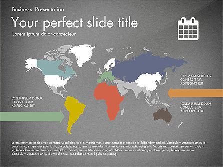 Timeline in Flat Design Toolbox, Slide 16, 03159, Timelines & Calendars — PoweredTemplate.com