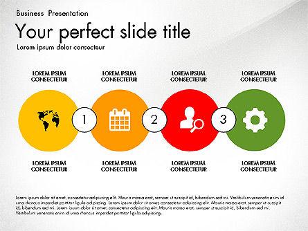 Timeline in Flat Design Toolbox Slide 3