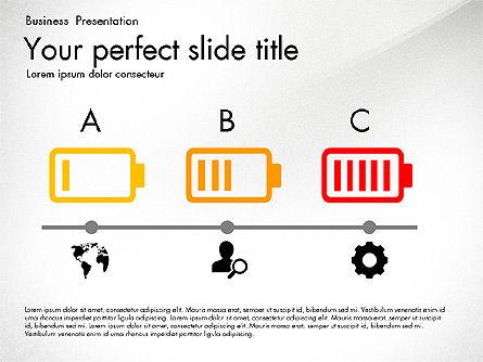 Timeline in Flat Design Toolbox Slide 4