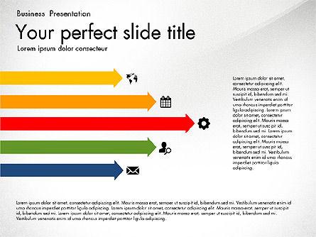Timeline in Flat Design Toolbox, Slide 6, 03159, Timelines & Calendars — PoweredTemplate.com