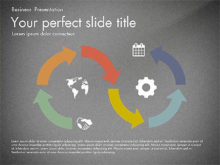 Timeline in Flat Design Toolbox, Slide 9, 03159, Timelines & Calendars — PoweredTemplate.com