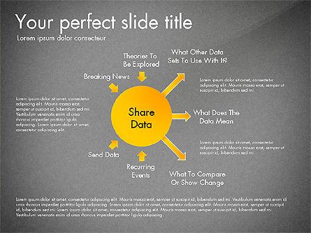 Sharing Calculation and Publish Data Process Diagram, Slide 10, 03161, Process Diagrams — PoweredTemplate.com
