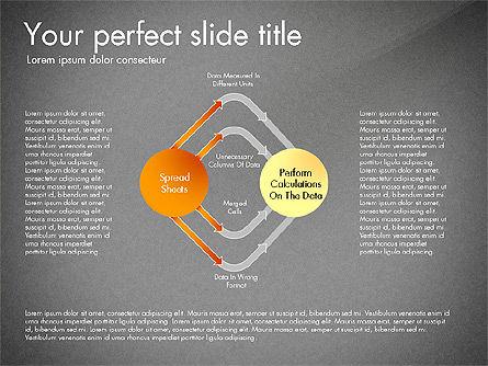 Sharing Calculation and Publish Data Process Diagram, Slide 11, 03161, Process Diagrams — PoweredTemplate.com