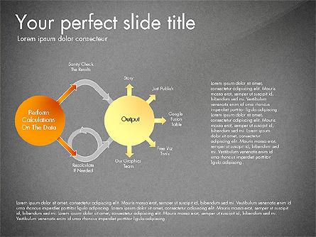 Sharing Calculation and Publish Data Process Diagram, Slide 16, 03161, Process Diagrams — PoweredTemplate.com