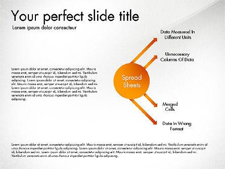 Sharing Calculation and Publish Data Process Diagram, Slide 7, 03161, Process Diagrams — PoweredTemplate.com