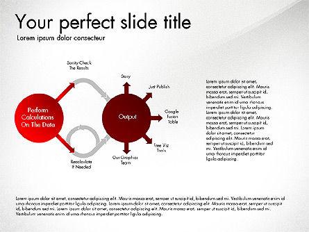 Sharing Calculation and Publish Data Process Diagram, Slide 8, 03161, Process Diagrams — PoweredTemplate.com