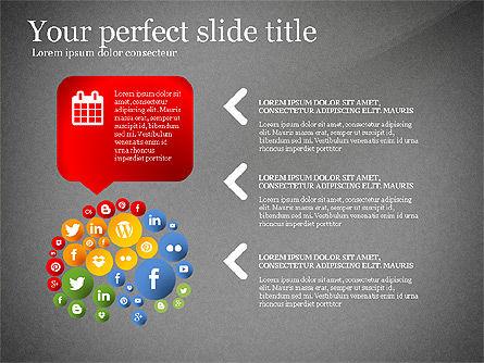Social Tree Presentation Template, Slide 12, 03162, Presentation Templates — PoweredTemplate.com