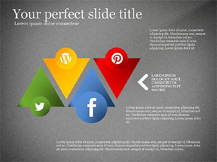 Social Tree Presentation Template, Slide 15, 03162, Presentation Templates — PoweredTemplate.com