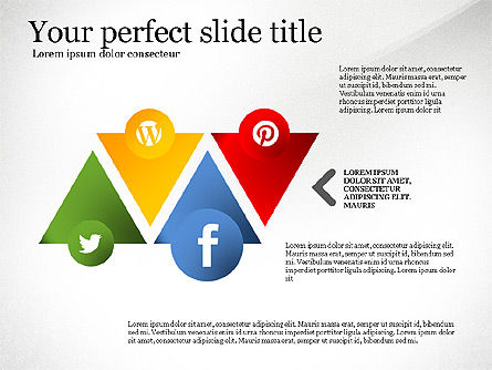 Social Tree Presentation Template, Slide 7, 03162, Presentation Templates — PoweredTemplate.com