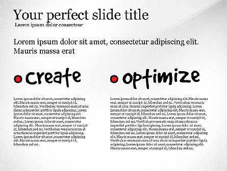 Content Strategy Process Diagram, Slide 6, 03164, Process Diagrams — PoweredTemplate.com