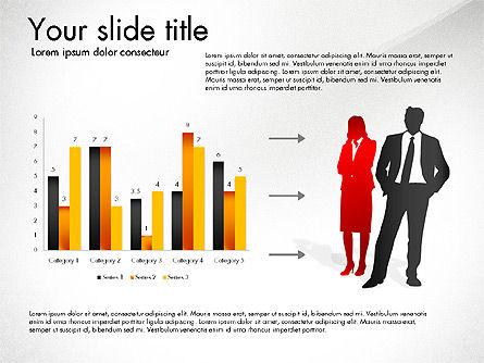 Achieving Success Diagram, Slide 2, 03165, Stage Diagrams — PoweredTemplate.com