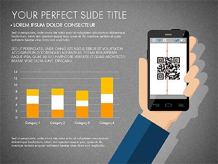 Navigation Mobile App Presentation Template, Slide 11, 03166, Presentation Templates — PoweredTemplate.com