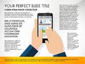 Presentation Templates: Template Presentasi Aplikasi Seluler Navigasi #03166