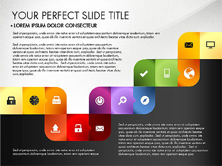 Colored and Black and White Icons, 03169, Icons — PoweredTemplate.com