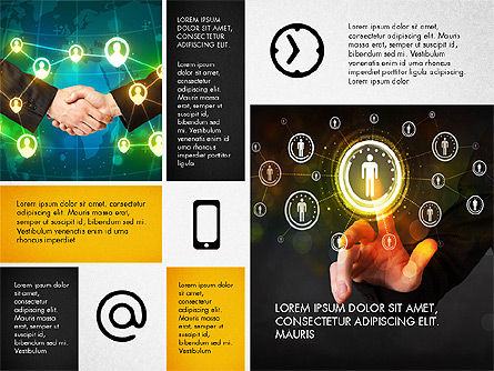 Modern Presentation with Photos, Slide 2, 03170, Presentation Templates — PoweredTemplate.com