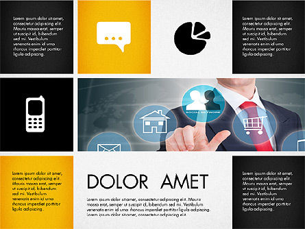 Modern Presentation with Photos, Slide 4, 03170, Presentation Templates — PoweredTemplate.com