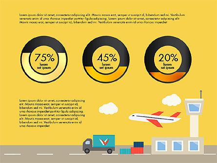 Transportation Presentation Template, Slide 10, 03171, Presentation Templates — PoweredTemplate.com