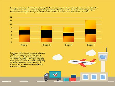 Transportation Presentation Template, Slide 11, 03171, Presentation Templates — PoweredTemplate.com