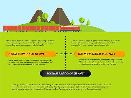 Transportation Presentation Template, Slide 5, 03171, Presentation Templates — PoweredTemplate.com