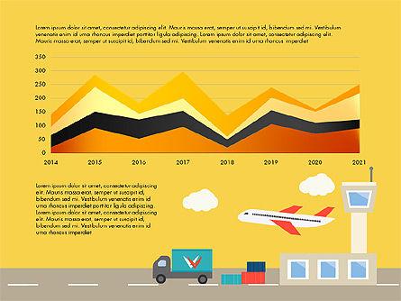 Transportation Presentation Template, Slide 6, 03171, Presentation Templates — PoweredTemplate.com